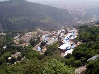 view of katra from sanjhi chatt
